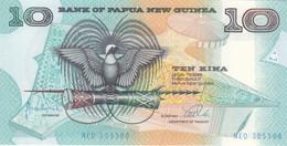 PAPUA NEW GUINEA 10 KINA 1998 P9e UNC */* - Papoea-Nieuw-Guinea