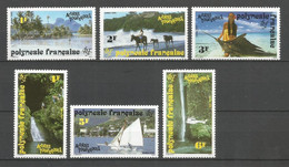 Timbre De Polynésie Française En Neuf ** N 399 /  404 - Neufs