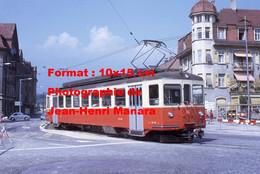 ReproductionPhotographie D'un Tramway SNB Solothurn-Niederbipp-Bahn En Suisse En 1968 - Reproductions
