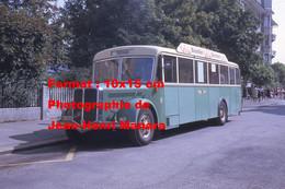 ReproductionPhotographie D'un Bus FBW Ligne Ruttenen à Soleure En Suisse En 1968 - Reproductions