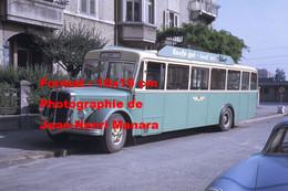 ReproductionPhotographie D'un Bus FBW Avec Publicité Kaufe Gut Kauf Bei Felbert à Soleure En Suisse En 1968 - Reproductions