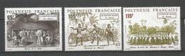 Timbre De Polynésie Française Neuf ** N 410/412 - Neufs