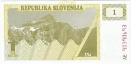 Eslovenia - Slovenia 1 Tolar 1990 Pk 1a Ref 660-2 - Eslovenia