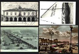 Conjunto 4 Postais De POVOA De VARZIM. Lot 4 Old Vintage Postcards (Porto) PORTUGAL - Porto