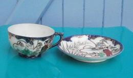 Tasse Et Sous Tasse Chinoise - Porcelaine Fine - Cups