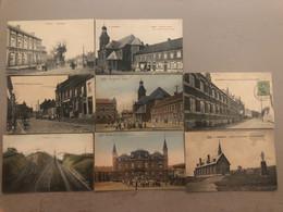 Top Lot De 8 Cartes De Frameries à Saisir Mega Rare Collection - Frameries