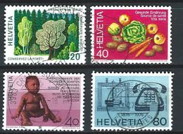 VV-/-145.- YVERT N° 999/1002,  OBL. - TB - COTE 2.00 € - IMAGE DU VERSO SUR DEMANDE - Usati