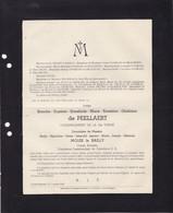 GRAND-BIGARD STE-Croix De PEELLAERT Blanche Veuve MOLES Le BAILLY Comte Romain 1867-1947 COOMANS De BRACHENE - Obituary Notices