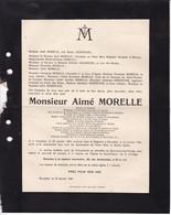 GOSSELIES LEUVEN MORELLE Aimé 1869-1926 Docteur En Médecine Professeur Université Catholique De Louvain Urologie - Obituary Notices