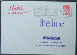 France - Cover 2003 Grapes Vineyards Fishing Oudon - Vins & Alcools