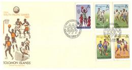 (P 16) Solomons Islands - FDC Cover - 1981 - South Pacific Games - Salomoninseln (Salomonen 1978-...)