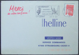 France - Cover 2003 Wine Grapes Ceyzeriat - Vins & Alcools