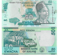 539 MALAWI 50 KWACHA DEL 2018 FDS EURO 0,70 - Malawi