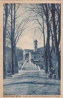 SERRAVALLE SESIA-VERCELLI IL VIALE CHE CONDUCE AL SANTUARIO DI SAN EUSEO -CARTOLINA VIAGGIATA IL 16-9-1933 - Vercelli