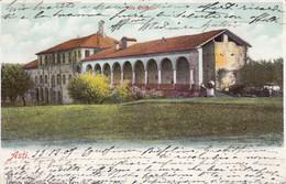 ASTI-VILLA CERTOSA-CARTOLINA VIAGGIATA IL 24-11-1907 - Asti