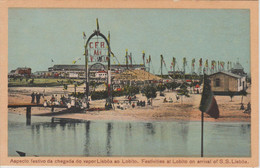 LOBITO. FESTIVITIES AT LOBITO ON ARRIVAL OF S.S. LISBOA - Angola