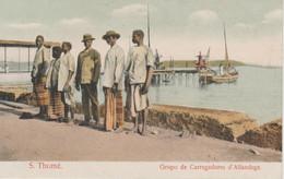 ST THOME.  GRUPO DE CARREGADORES D'ALFANDEGA - Sao Tome And Principe