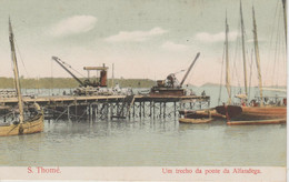 ST THOME.   UM TRECHO DA PONTE DA ALFANDEGA - Sao Tome And Principe