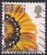 GB 2005 QE2 1st Smilers Gazania Splenden Flower Used SG 2567 ( R792 ) - 1952-.... (Elizabeth II)