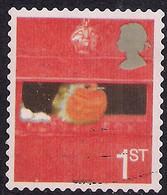 GB 2005 QE2 1st Smilers Robin In Letter Box Used SG 2572 ( R991 ) - 1952-.... (Elizabeth II)