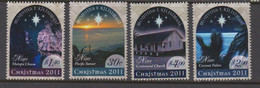 Niue  1192-95 2011Christmas Mint Never Hinged - Niue