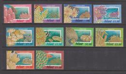 Niue Scott 684-693 1996 Corals  Mint Never Hinged - Niue