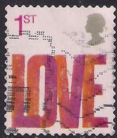 GB 2005 QE2 1st Smilers Love Used SG 2569 ( R1026 ) - 1952-.... (Elizabeth II)