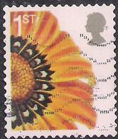 GB 2005 QE2 1st Smilers Gazania Splenden Flower Used SG 2567 ( R799 ) - 1952-.... (Elizabeth II)