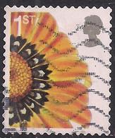GB 2005 QE2 1st Smilers Gazania Splenden Flower Used SG 2567 ( R880 ) - 1952-.... (Elizabeth II)