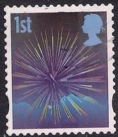GB 2008 QE2 1st Smilers Fireworks Used 4th Series SG 2823 ( T439 ) - 1952-.... (Elizabeth II)