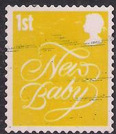 GB 2006 QE2 1st Smilers New Baby Used 2nd Series SG 2672 ( M1008 ) - 1952-.... (Elizabeth II)
