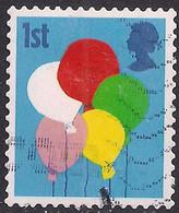 GB 2006 QE2 1st Smilers Balloons Used 2nd Series SG 2675 ( M1044 ) - 1952-.... (Elizabeth II)