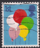 GB 2006 QE2 1st Smilers Balloons Used 2nd Series SG 2675 ( M1092 ) - 1952-.... (Elizabeth II)