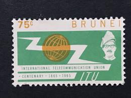 ◆◆◆Brunei  1965  ITU Issue  75c  NEW   AA9444 - Brunei (1984-...)