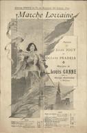 """""""Marche Lorraine"""" - Paroles De Jules Jouy Et Octave Pradels - Musique De Louis Ganne - Créée Par Marius Richard - Musik & Instrumente"""