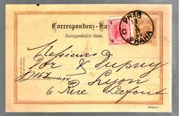 37329 -  De PRAG Pour La France - Entiers Postaux