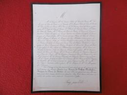 GENEALOGIE NOBLESSE DECES PRINCESSE DE ROHAN ROCHEFORT MARQUISE DE PIERRE DE BERNIS 1864 - Obituary Notices