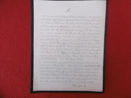 GENEALOGIE NOBLESSE DECES GERARD DE CHARBONNIERE COLONEL LEGION DE GENDARMERIE 1863 - Obituary Notices