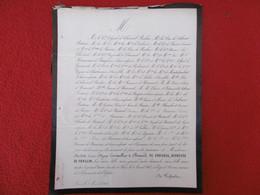 GENEALOGIE NOBLESSE DECES CHARLOTTE LAURE OLYMPE LE TONNELIER DE BRETEUIL DE CHOISEUL DUCHESSE DE PRASLIN 1861 - Obituary Notices