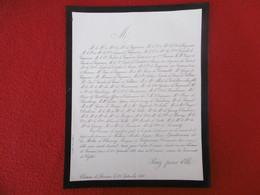 GENEALOGIE NOBLESSE DECES AMELIE JEANNE MARIE QUATRESOUX DE LA MOTTE DE CHENEY 1868 - Obituary Notices