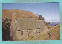 Small Postcard Of St.Peter`s Church,Martindale,Cumbria,England,V143. - Cumberland/ Westmorland