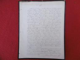 GENEALOGIE NOBLESSE DECES JULIE EMILIE DE LAMBILLY MARQUISE DE PIRE 1868 - Obituary Notices