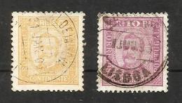 Portugal N°66, 67 Cote 8 Euros - 1892-1898 : D.Carlos I