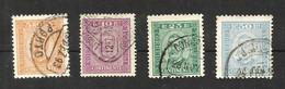 Portugal N°66, 67, 70, 71 Cote 17.50 Euros - 1892-1898 : D.Carlos I