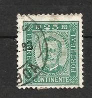 Portugal N°70 Cote 3.50 Euros - 1892-1898 : D.Carlos I