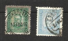 Portugal N°70, 71 Cote 9.50 Euros - 1892-1898 : D.Carlos I