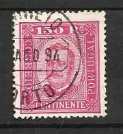 Portugal N°75 Cote 110 Euros - 1892-1898 : D.Carlos I