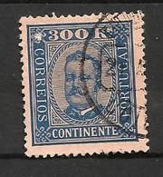 Portugal N°77 Cote 70 Euros (légèrement Abîmé Coin Supèrieur Gauche) - 1892-1898 : D.Carlos I