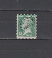 FRANCE N° 65 TIMBRE PREOBLITERE NEUF** DE 1923    Cote : 65 € - 1893-1947