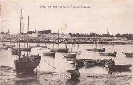 56 Gavres Le Port Et Vue Sur Port Louis - Otros Municipios